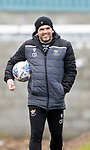 St Johnstone Training....24.02.21<br />Manager Callum Davidson pictured during training at McDiarmid Park ahead of Sunday's BETFRED Cup Final against Livingston at Hampden Park.<br /><br />Picture by Graeme Hart.<br />Copyright Perthshire Picture Agency<br />Tel: 01738 623350  Mobile: 07990 594431