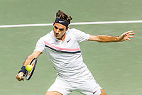 Rotterdam, The Netherlands, 17 Februari, 2018, ABNAMRO World Tennis Tournament, Ahoy, Tennis, Semi final single, Roger Federer (SUI)<br /> <br /> Photo: www.tennisimages.com