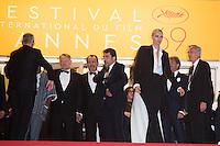 Jared Harris, Jean Reno, Javier Bardem, Charlize Theron - CANNES 2016 - DESCENTE DU FILM 'THE LAST FACE'