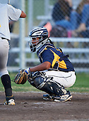 Boca Ciega Pirates catcher Ivan Rodriguez (12) during a game against the Lakeland Spartans at Boca Ciega High School on March 2, 2016 in St. Petersburg, Florida.  (Copyright Mike Janes Photography)