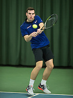 Rotterdam, Netherlands, Januari 28, 2017, ABNAMROWTT, Supermatch, Patrick Speelman<br /> Photo: Tennisimages/Henk Koster