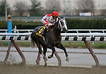29 November 2008: Ramon Dominguez rides Old Fashioned to an easy wire to wire victory in the grade 2 Remsen Stakes at Aqueduct Racetrack in Ozone Park, New York.