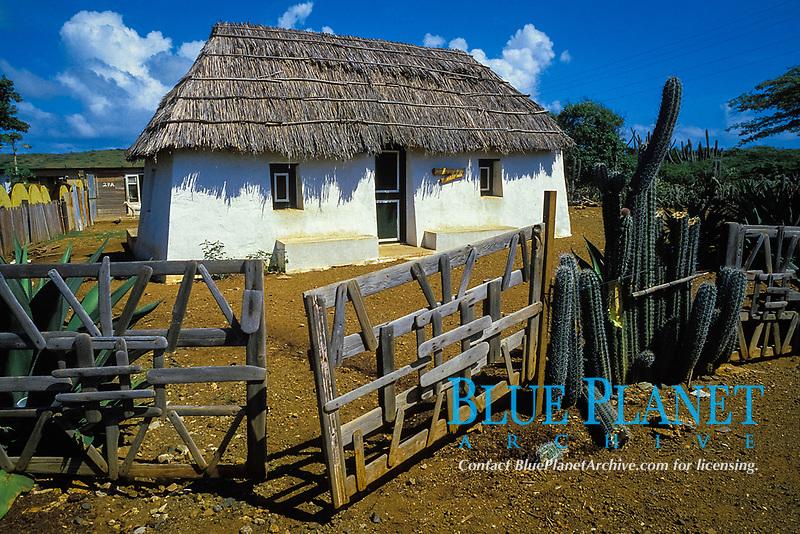 Slave Hut Museum, Curacao, Netherland Antilles or Dutch ABC Island, Caribbean, Atlantic