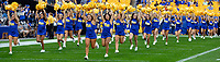 The University of Pittsburgh dance team performs before the game.The Virginia Cavaliers defeated the Pitt Panthers 30-14 in a football game at Heinz Field, Pittsburgh, Pennsylvania on August 31, 2019.