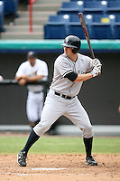 April 15, 2009:  Left Fielder Tommy Baldridge of the Tampa Yankees, Florida State League Class-A affiliate of the New York Yankees, during a game at Space Coast Stadium in Viera, FL.  Photo by:  Mike Janes/Four Seam Images