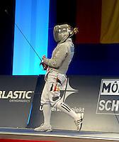 Deutsche Meisterschaft DM 2013 Fechten Säbel in Tauberbischofsheim 11.-12.05.2013 - im Bild: Damensäbel Einzel - Alexandra Bujdoso<br /> (Königsbacher SC / Koblenz ). <br /> <br /> Foto: Norman Rembarz / aif