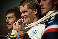 Vasil Kiryienka (BLR/SKY) is the 2015 TT World Champion<br /> <br /> Elite Men TT<br /> UCI Road World Championships / Richmond 2015