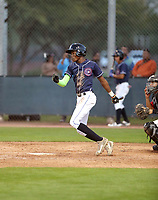 Cristofher Paniagua participates in the MLB International Showcase at Salt River Fields on November 12-14, 2019 in Scottsdale, Arizona (Bill Mitchell)