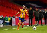 1st November 2020; Wembley Stadium, London, England; Womens FA Cup Final Football, Everton Womens versus Manchester City Womens; Ingrid Moe Wold of Everton Women