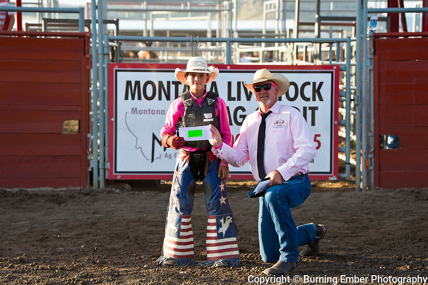 Steer Riding at the Helena MT Last Chance Stampede 2nd perf July 26th 2019.  Photo by Josh Homer/Burning Ember Photography.  Photo credit must be given on all uses.