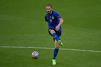 Leonardo Bonucci of Italy in action during the Uefa Euro 2020 Final football match between Italy and England at Wembley stadium in London (England), July 11th, 2021. Photo Andrea Staccioli / Insidefoto