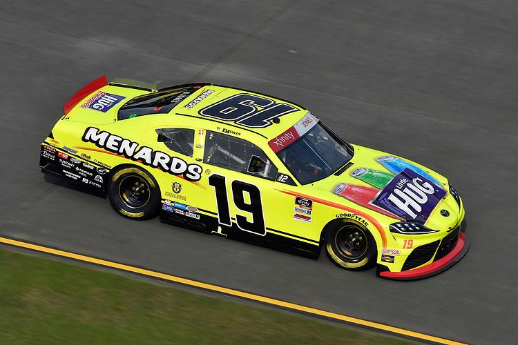 #19: Brandon Jones, Joe Gibbs Racing, Toyota Supra Menards/Little Hugs