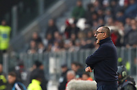 Calcio, Serie A: Juventus - Cagliari, Turin, Allianz Stadium, January 6, 2020.<br /> Juventus' coach Maurizio Sarri speaks to his players during the Italian Serie A football match between Juventus and Cagliari at Torino's Allianz stadium, on January 6, 2020.<br /> UPDATE IMAGES PRESS/Isabella Bonotto