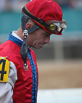 20 February 2009:  Calvin Borel places an very disappointed 9th place in The Southwest at Oaklawn in Hot Springs, Arkansas