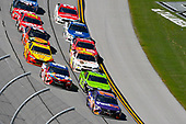 Monster Energy NASCAR Cup Series<br /> GEICO 500<br /> Talladega Superspeedway, Talladega, AL USA<br /> Sunday 7 May 2017<br /> Denny Hamlin, Joe Gibbs Racing, FedEx Express Toyota Camry and Kyle Busch, Joe Gibbs Racing, Skittles Red, White, & Blue Toyota Camry<br /> World Copyright: Nigel Kinrade<br /> LAT Images<br /> ref: Digital Image 17TAL1nk06112