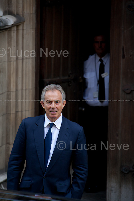 """Tony Blair, former British Prime Minister.<br /> <br /> For more pictures on this event click here: <a href=""""http://bit.ly/PP5Ai1""""> http://bit.ly/PP5Ai1</a>"""
