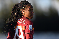 Lindsey Thomas of AS Roma during the Women Italy cup round of 8 second leg match between AS Roma and Florentia S.G. at stadio delle tre fontane, Roma, February 14, 2021. Photo Andrea Staccioli / Insidefoto
