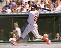 CIRCA 1997: Jim Thome #25 of the Cleveland Indians in the field during a game from his 1997 season with the Cleveland Indians. Jim Thome played 22 seasons, with 6 different teams, was a 5-time All-Star and was inducted to the Baseball Hall of Fame in 2018  (Photo by: 1997 SportPics)  *** Local Caption *** Jim Thome