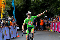 Jesse Featonby (Oliver's Real Food racing) wins Stage Four - Te Piki - The Climb. 2019 Grassroots Trust NZ Cycle Classic UCI 2.2 Tour from Cambridge, New Zealand on Saturday, 26 January 2019. Photo: Dave Lintott / lintottphoto.co.nz
