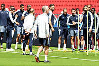 KAZAN - RUSIA, 15-06-2018: Didier Deschamps, técnico de Francia, durante entrenamiento del equipo frances como parte de la Copa Mundo FIFA 2018 Rusia. / Didier Deschamps coach of France during training at Kazan Arena as part of the 2018 FIFA World Cup Russia. Photo: VizzorImage / Julian Medina / Cont