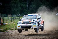 3rd July 2021, Liepaja, Latvia;  19 LINNAMAE Georg (EST), KORSIA VLODYMYR (UKR), VW Polo GTI during the 2021 FIA ERC Rally Liepaja, 2nd round of the 2021 FIA European Rally Championship