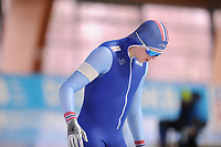 SPEEDSKATING: ERFURT: 19-01-2018, ISU World Cup, 500m Men B Division, Bjørn Magnussen (NOR), photo: Martin de Jong