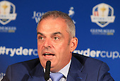 Paul McGinley announces his Captain's picks for the 2014 European Ryder Cup Team. The 2014 Ryder Cup will be played over the PGA Centenary Course at The Gleneagles Hotel, Perthshire from 23rd to 28th September 2014: Picture Stuart Adams www.golftourimages.com: 2nd September 2014
