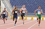 Kyle Whitehouse, Toronto 2015 - Para Athletics // Para-athlétisme.<br /> Kyle Whitehouse competes in the Men's 100m T38 Final // Kyle Whitehouse participe à la finale du 100 m T38 masculin. 11/08/2015.