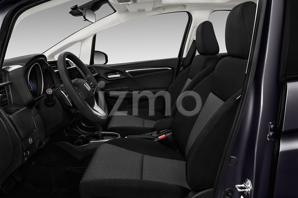 Front seat view of a 2018 Honda Fit EX CVT 5 Door Hatchback front seat car photos