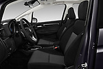 Front seat view of a 2018 Honda Fit EX CVT 5 Door Hatchback front seat car photos