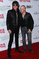 HOLLYWOOD, CA - DECEMBER 01: Richie Sambora, Chris Daughtry arriving at the 82nd Annual Hollywood Christmas Parade held at Hollywood Boulevard on December 1, 2013 in Hollywood, California. (Photo by Xavier Collin/Celebrity Monitor)