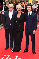 """Richard Eyre, Emma Thompson and Fionn Whitehead<br /> arriving for the premiere of """"The Children Act"""" at the Curzon Mayfair, London<br /> <br /> ©Ash Knotek  D3420  16/08/2018"""