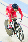 Lin Junhong of China competes in the Women's Keirin - 1st Round during the 2017 UCI Track Cycling World Championships on 16 April 2017, in Hong Kong Velodrome, Hong Kong, China. Photo by Chris Wong / Power Sport Images