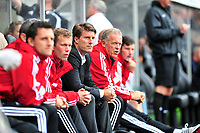 Swansea v Manchester UnitedPlayed at the Liberty Stadium, SwanseaBarclays Premier League 2013-08-17Manchester United take on Swansea city in their first game of the Premier League 2013/2014 season at the Liberty Stadium.  Swansea manager Michael Laudrup<br /> Pictures by Amy Husband.