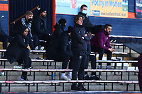31st October 2020; Kenilworth Road, Luton, Bedfordshire, England; English Football League Championship Football, Luton Town versus Brentford; Brentford Manager Thomas Frank in the stands