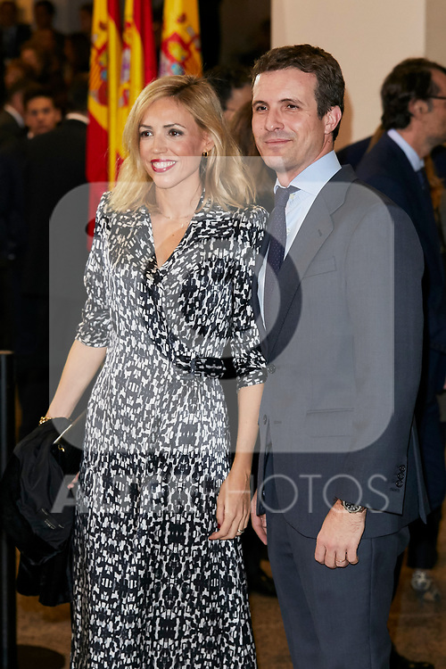 Pablo Casado attends to Spanish Constitution 40th Anniversary Concert at National Auditorium of Music in Madrid, Spain. December 05, 2018. (ALTERPHOTOS/A. Perez Meca)