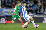 CD Leganes' Oscar Rodriguez Arnaiz (R) and Deportivo Alaves' Darko Brasanac  during La Liga match. November 23,2018. (ALTERPHOTOS/Alconada)