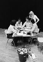 ARCHIVE -<br /> Auditions pour un film de Jean-Claude Lord, 25 et 26 juillet 1973<br /> <br /> Photo : Agence Quebec Presse  - Alain Renaud