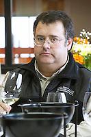 Jose Antonio Barria winemaker and oenologist, production manager Bodega Del Fin Del Mundo - The End of the World - Neuquen, Patagonia, Argentina, South America