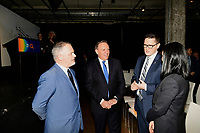 75 ieme d' Hydro-Quebec en presence du President Eric Martel,de Lucien Bouchard, Andre Caille, Jean Charest, Pierre-Karl Peladeau, Daniel Johnson, Pierre-Marc Johnson et autres dignitaires.<br /> <br /> PHOTO : Agence Quebec Presse