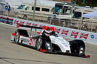 #89 (LMPC) Intersport Racing Oreca FLM09, Mitch Pagerey, Brian Wong & David Ducote