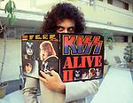 Kiss 1978 Gene Simmons.© Chris Walter.