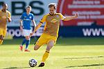 20.02.2021, xtgx, Fussball 3. Liga, FC Hansa Rostock - SV Waldhof Mannheim, v.l. Marcel Seegert (Mannheim, 5) <br /> <br /> (DFL/DFB REGULATIONS PROHIBIT ANY USE OF PHOTOGRAPHS as IMAGE SEQUENCES and/or QUASI-VIDEO)<br /> <br /> Foto © PIX-Sportfotos *** Foto ist honorarpflichtig! *** Auf Anfrage in hoeherer Qualitaet/Aufloesung. Belegexemplar erbeten. Veroeffentlichung ausschliesslich fuer journalistisch-publizistische Zwecke. For editorial use only.