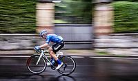 Marco Canola (ITA/Gazprom-RusVelo)<br /> <br /> racing in torrential rains at <br /> Grande Trittico Lombardo 2020 (1.Pro/ITA)<br /> 1 day race from Legnano to Varese (200km)