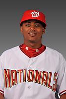14 March 2008: ..Portrait of Michael Martinez, Washington Nationals Minor League player at Spring Training Camp 2008..Mandatory Photo Credit: Ed Wolfstein Photo