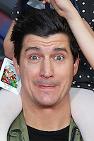 """HOLLYWOOD, LOS ANGELES, CA, USA - MARCH 11: Ken Marino at the World Premiere Of Disney's """"Muppets Most Wanted"""" held at the El Capitan Theatre on March 11, 2014 in Hollywood, Los Angeles, California, United States. (Photo by Xavier Collin/Celebrity Monitor)"""