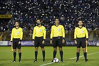 SAN SALVADOR, EL SALVADOR - SEPTEMBER 2: Referee during a game between El Salvador and USMNT at Estadio Cuscatlán on September 2, 2021 in San Salvador, El Salvador.