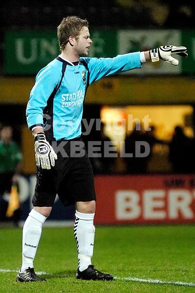 voetbal bv veendam - ado den haag jupiler league 18-01-2008 christian kum.