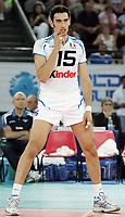 Emanuele Birarelli (Italia)<br /> Italia vs Russia 1-3<br /> Girone B, World League Volley<br /> Palalottomatica, Roma, 28 Giugno Roma<br /> Photo Antonietta Baldassarre Insidefoto