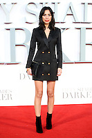 """Fiona Wade<br /> at the """"Fifty Shades Darker"""" premiere, Odeon Leicester Square, London.<br /> <br /> <br /> ©Ash Knotek  D3223  09/02/2017"""